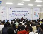 Hàng trăm sinh viên tham dự hội thảo Ngày Hội Nghề Nghiệp năm 2018 do khoa Xây dựng và Điện, Trường Đại học Mở Thành phố Hồ Chí Minh tổ chức.