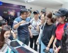 Sinh viên Trường Đại học Mở Tp. Hồ Chí Minh thích thú với Ngày hội sáng tạo – Geforce Creators Days