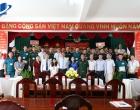 Trường Đại học Mở Thành phố Hồ Chí Minh tổ chức lễ khai giảng lớp cử nhân Luật Kinh tế hình thức đào tạo từ xa tại Ban chỉ huy Quân sự Quận Bình Tân.