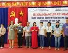 Lễ khai giảng ngành Công tác xã hội và Quản trị Kinh doanh hình thức đào tạo từ xa tại Khánh Hòa