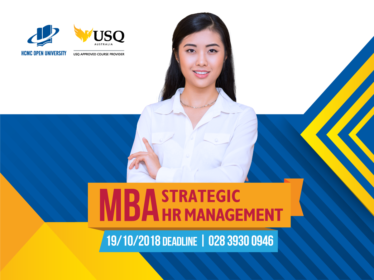 Giai đoạn 1 Thạc sĩ Quản trị kinh doanh – Quản trị chiến lược nhân sự liên kết Đại học Southern Queensland, Úc