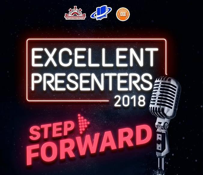 EXCELLENT PRESENTERS 2018 – STEP FORWARD