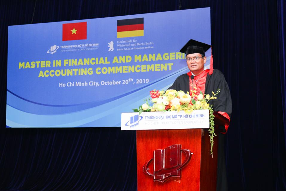 PGS.TS. Nguyễn Minh Hà - Hiệu trưởng Trường ĐH Mở TP.HCM
