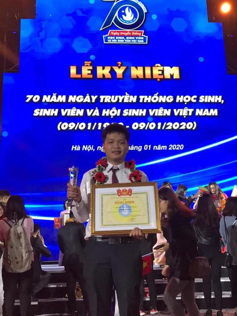Nguyễn Hữu Khánh Hoàng, Sinh viên 5 tốt cấp Trung ương năm 2019 – Khoa Công Nghệ Thông Tin