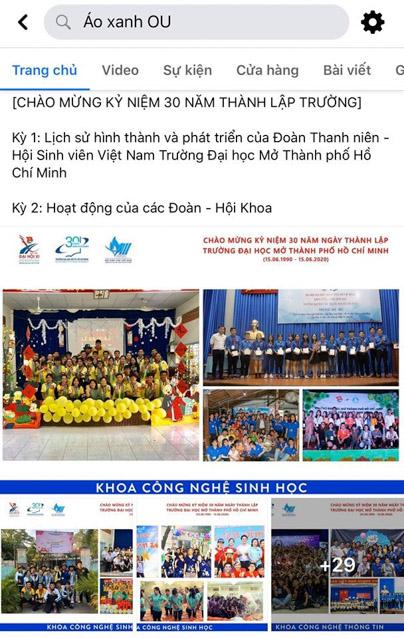 Triển lãm ảnh về lịch sử hình thành của Đoàn TNCS Hồ Chí Minh – Hội Sinh viên Việt Nam trường đại học Mở TP.HCM.