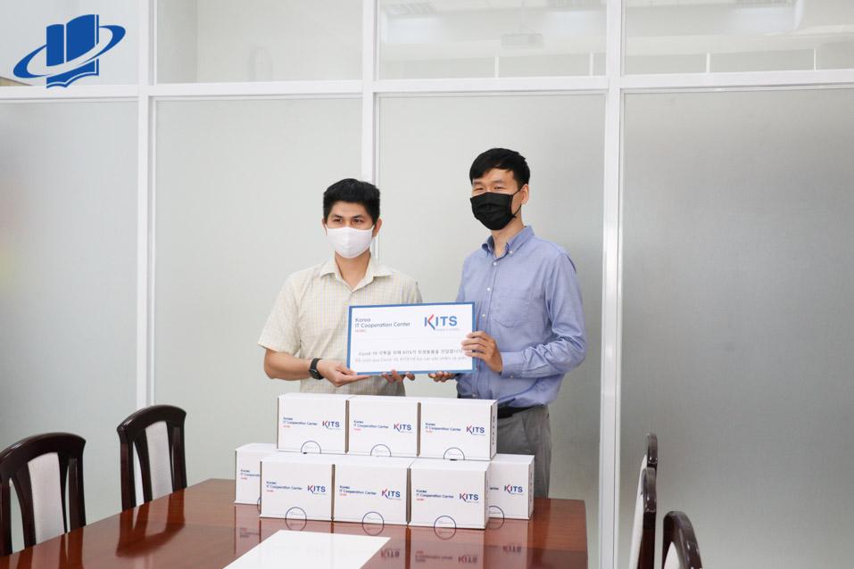 Trường Đại học Mở Thành phố Hồ Chí Minh đón tiếp Trường Công nghệ thông tin Hàn Quốc (KITS)