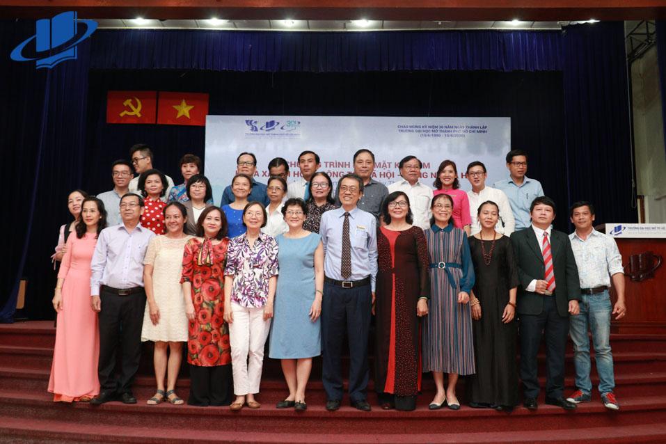 Chương trình họp mặt kỷ niệm 30 năm thành lập Trường Đại học Mở Thành phố Hồ Chí Minh của Khoa Xã hội học – Công tác xã hội – Đông Nam Á
