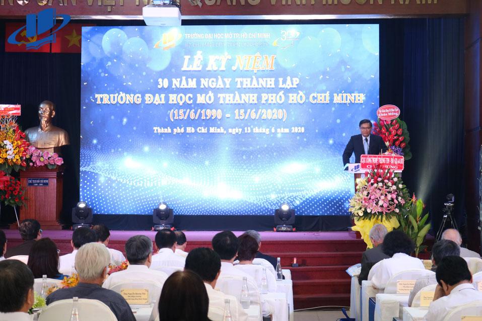 PGS.TS. Nguyễn Minh Hà, Hiệu trưởng Trường ĐH Mở TPHCM