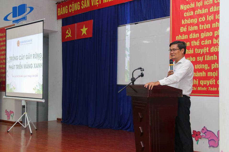 PGS.TS. Nguyễn Minh Hà - Hiệu trưởng Trường ĐH Mở TP.HCM nhắn nhủ các sinh viên tại Chương trình