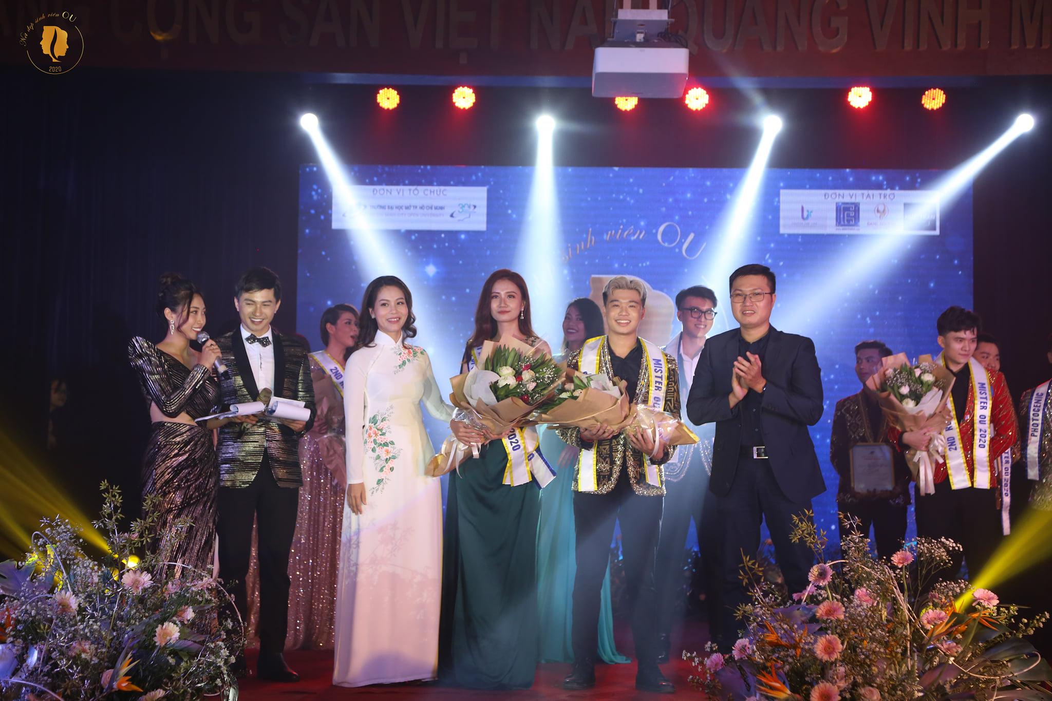 Á khôi 1 và Á vương 1 lần lượt được trao cho Phan Dương Hoàng Oanh và Nguyễn Hoàng Thông.