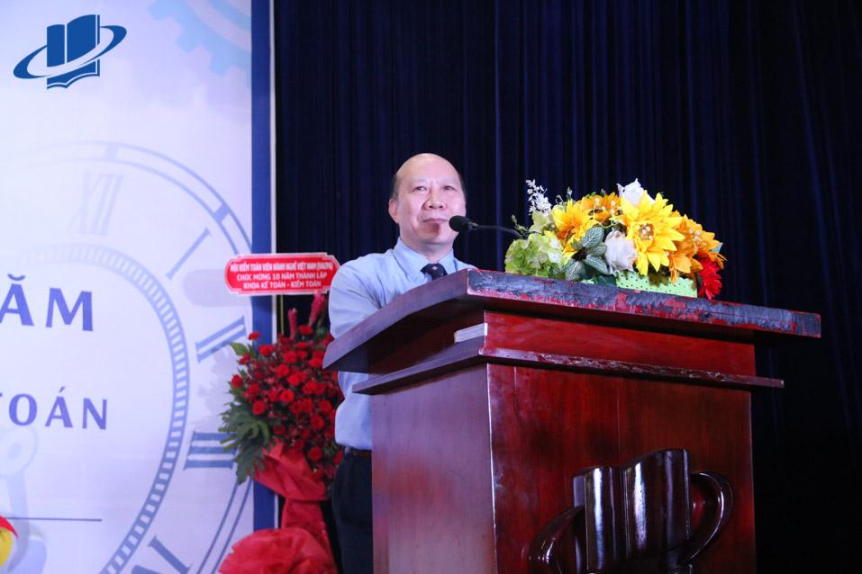 TS. Hồ Hữu Thụy - Trưởng khoa Kế toán - Kiểm toán