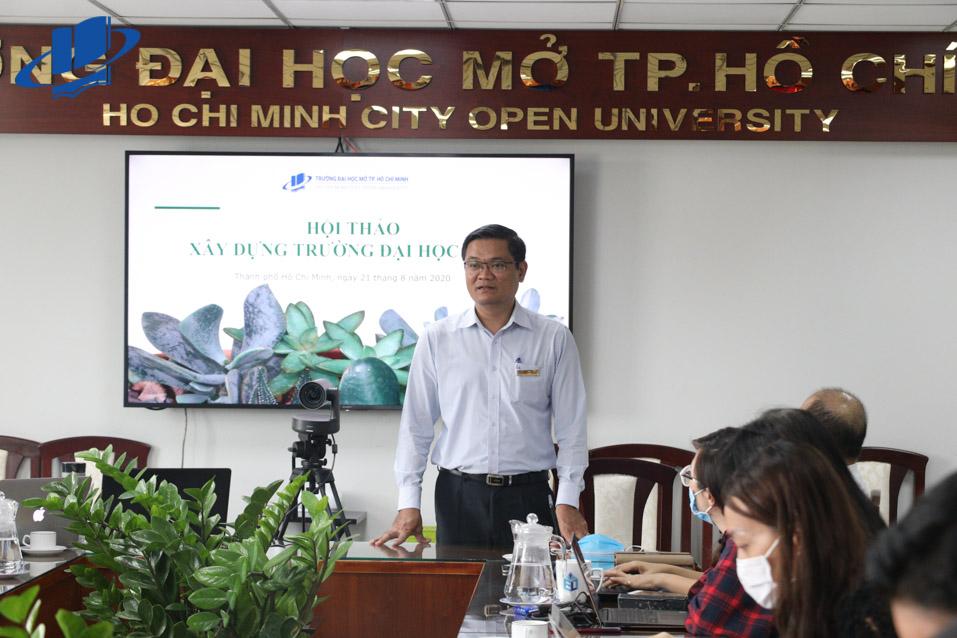 PGS.TS. Nguyễn Minh Hà phát biểu tại Hội thảo