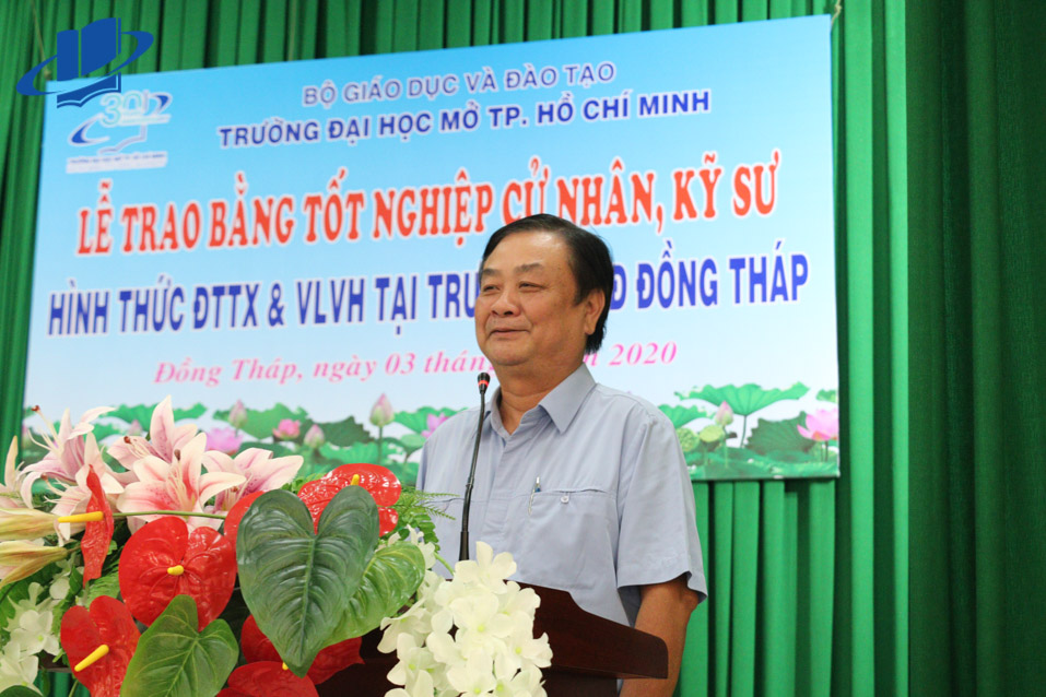Ông Lê Minh Hoan – Ủy viên Ban Chấp hành Trung ương Đảng, Bí thư Tỉnh ủy Đồng Tháp