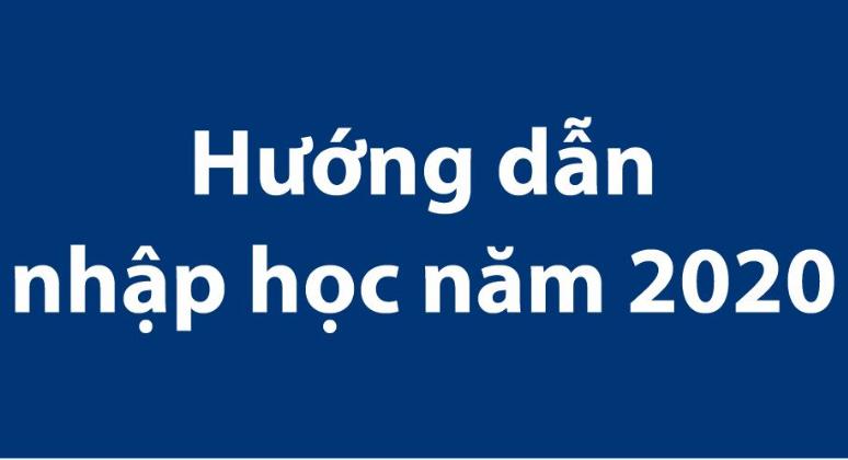 Nhap hoc 2020
