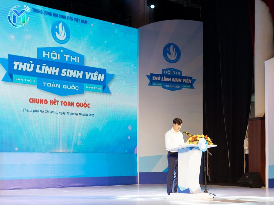 Đ/c Nguyễn Minh Triết phát biểu khai mạc đêm chung kết Hội thi