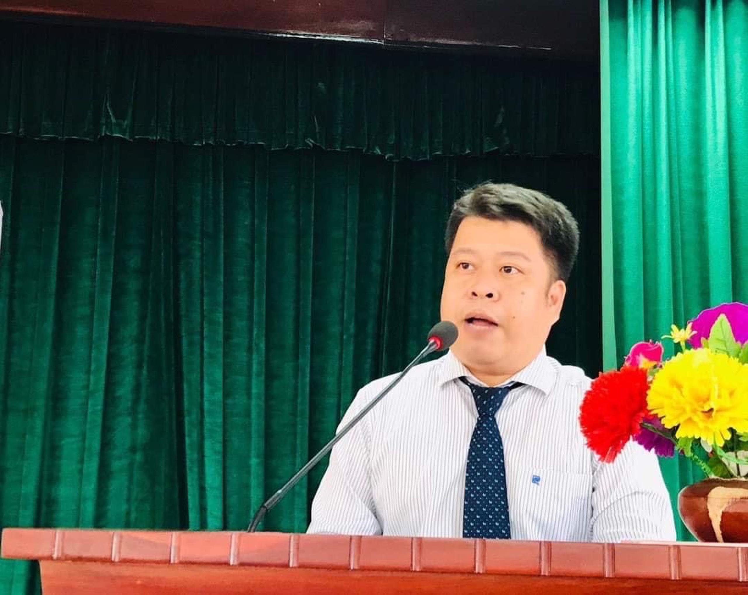 TS. Lê Nguyễn Quốc Khang - Phó Hiệu trưởng Trường Đại học Mở TPHCM
