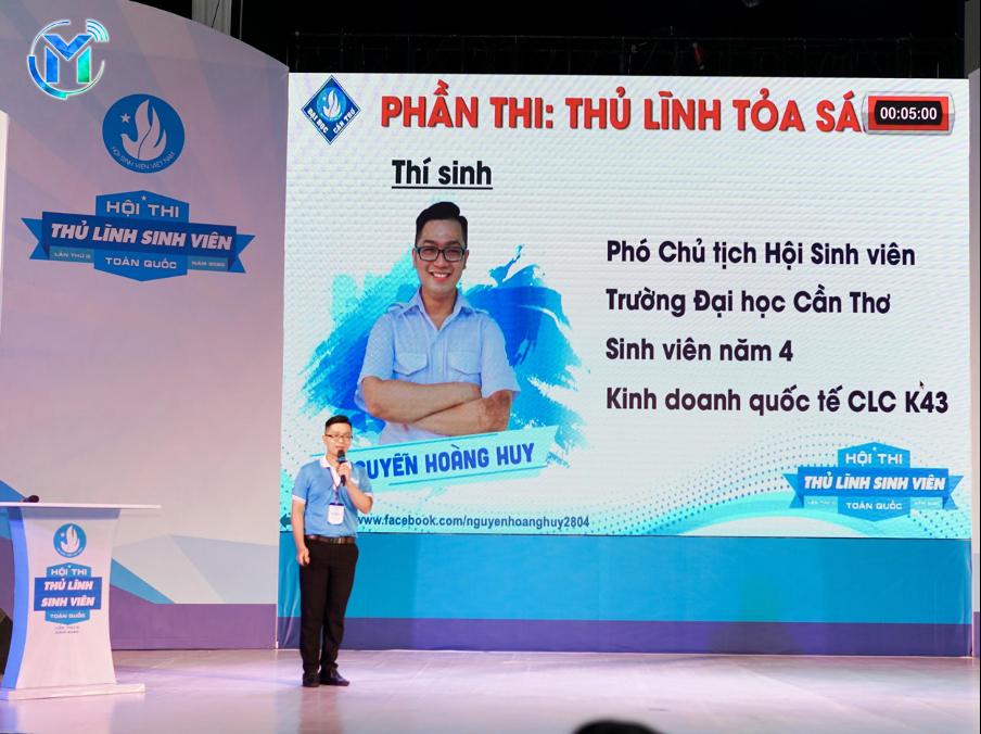 Thí sinh Nguyễn Hoàng Huy