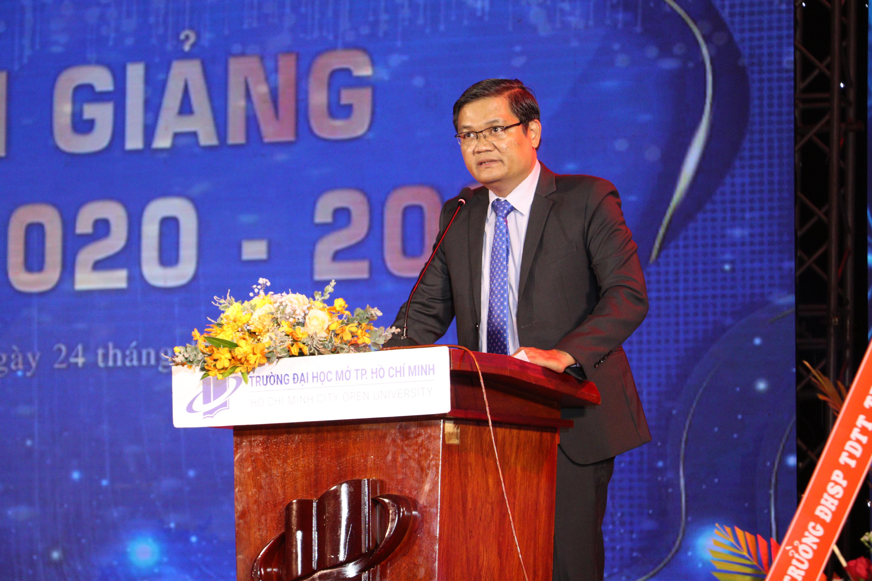 PGS.TS Nguyễn Minh Hà - Hiệu trưởng Trường ĐH Mở Tp.HCM