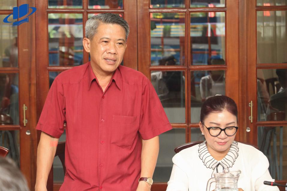 Ông Võ Văn Đức - Phó bí thư Quận ủy, chủ tịch UBND Quận 3