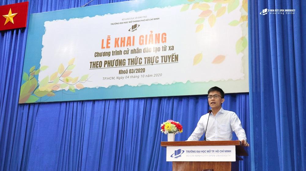 Ông Nguyễn Hoàng Thi – Phụ trách Phòng Nhân sự Công ty Cổ phần bột giặt LIX phát biểu