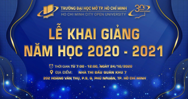 Thông báo về việc tham dự Lễ Khai giảng năm học 2020 – 2021
