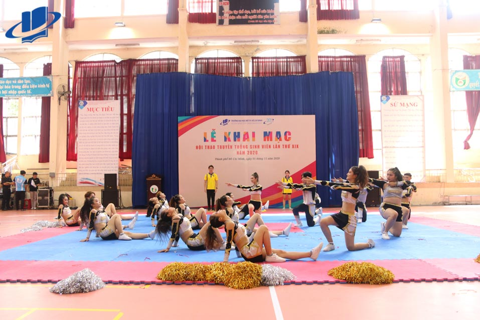Trường Đại học Mở Thành phố Hồ Chí Minh khai mạc Hội thao Truyền thống sinh viên lần thứ XIX năm 2020