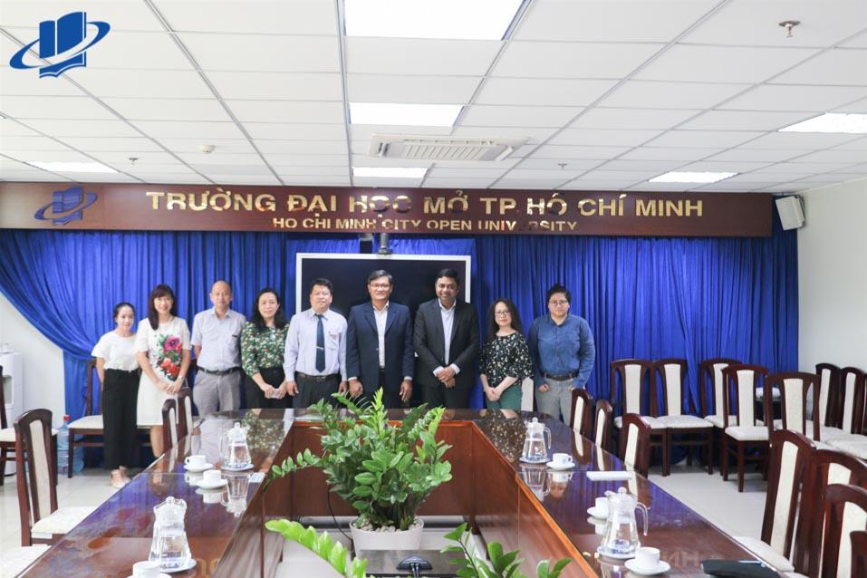 Tiếp và làm việc với Tổng Lãnh sự quán Ấn Độ tại TP. Hồ Chí Minh