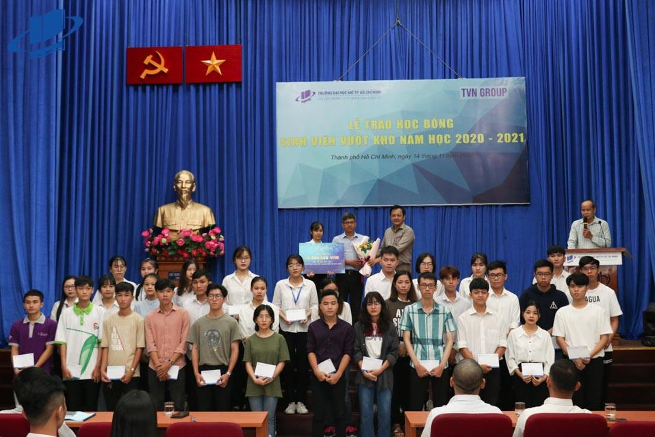 40 suất học bổng TVN Group dành cho sinh viên Trường ĐH Mở TP.HCM