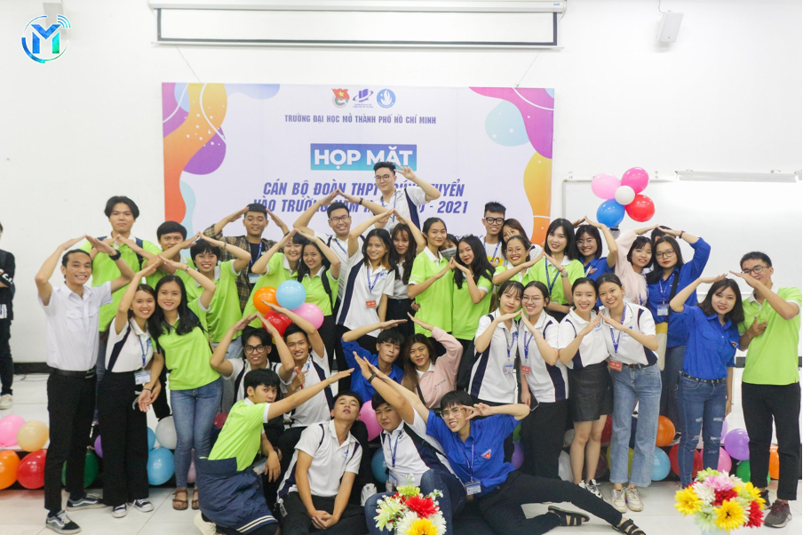 Họp mặt Cán bộ Đoàn THPT trúng tuyển vào Trường ĐH Mở TP. HCM năm học 2020 – 2021
