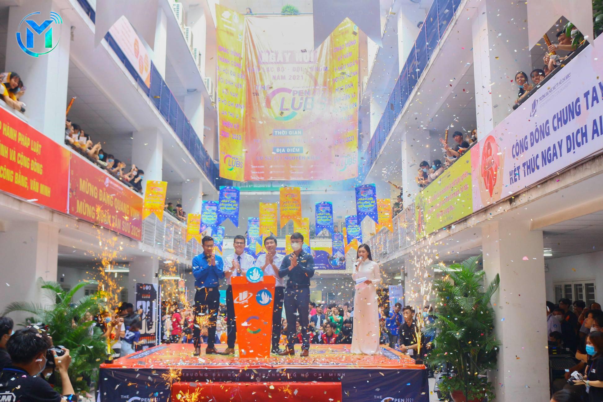 """Trường Đại học Mở TPHCM tổ chức ngày hội Câu lạc bộ – Đội – Nhóm – """"The Open Clubs 2021"""""""