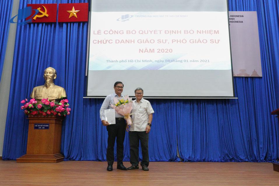 Lễ trao Quyết định bổ nhiệm chức danh Giáo sư và Phó giáo sư