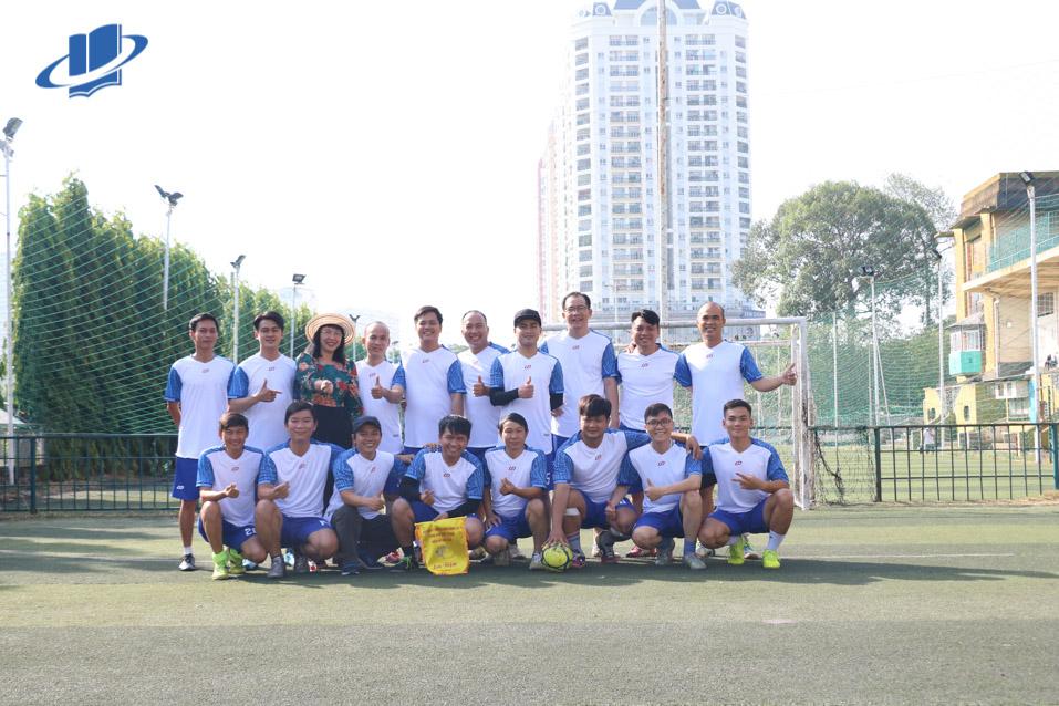 Công đoàn Trường Đại học Mở TP. Hồ Chí Minh tham gia giải bóng đá chào mừng kỷ niệm 75 năm ngày thể thao Việt Nam (27/3/1946 – 27/3/2021)