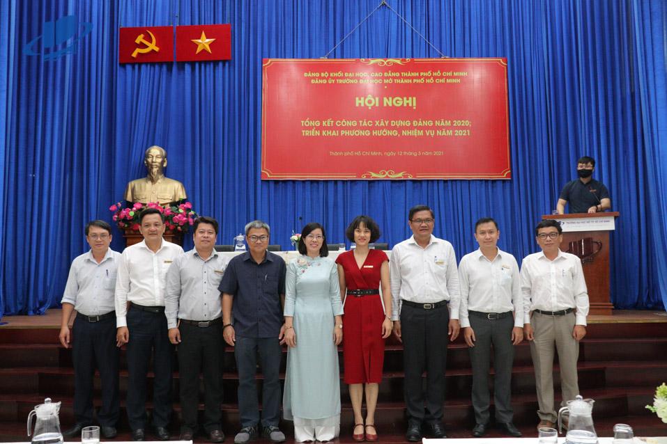Hội nghị tổng kết công tác xây dựng Đảng năm 2020 và triển khai nhiệm vụ năm 2021