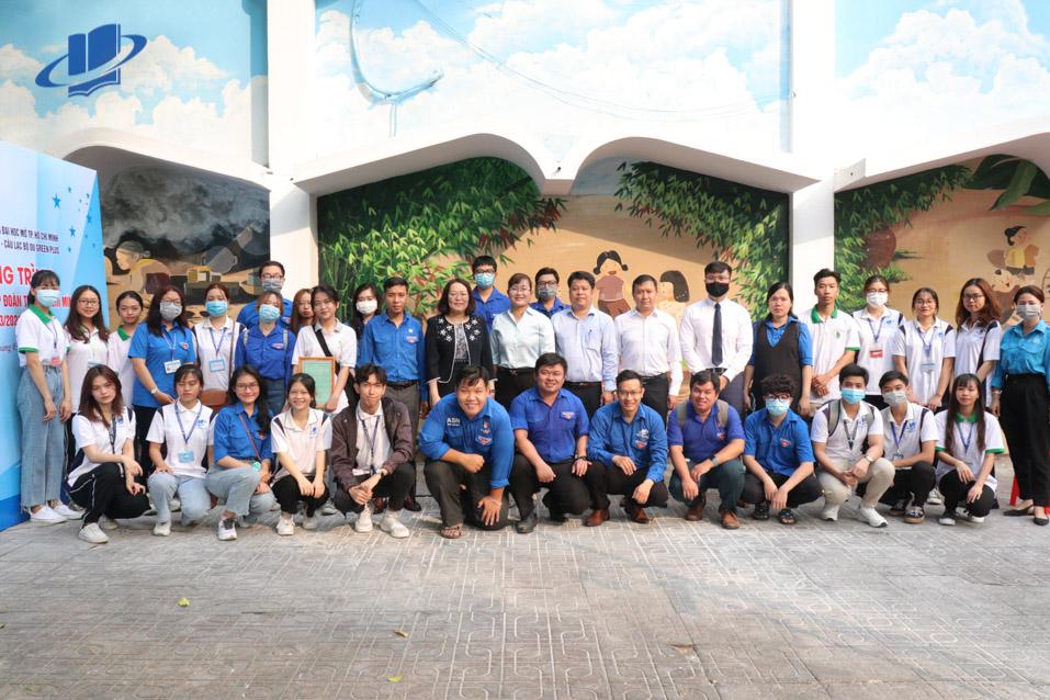 """Lễ ra mắt Công trình """"Tranh tường bích hoạ"""" chào mừng kỷ niệm 90 năm ngày thành lập Đoàn TNCS Hồ Chí Minh"""