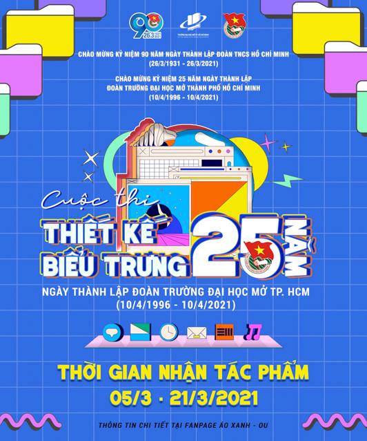 Nhiều cuộc thi trực tuyến Kỷ niệm 90 năm thành lập Đoàn TNCS Hồ Chí Minh và 25 năm thành lập Đoàn Trường ĐH Mở Tp.HCM