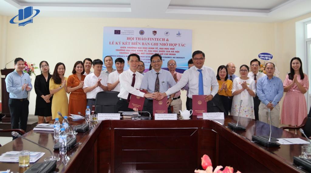Hội thảo FINTECH và Ký kết hợp tác giữa các trường đối tác của dự án Trust tại Việt Nam
