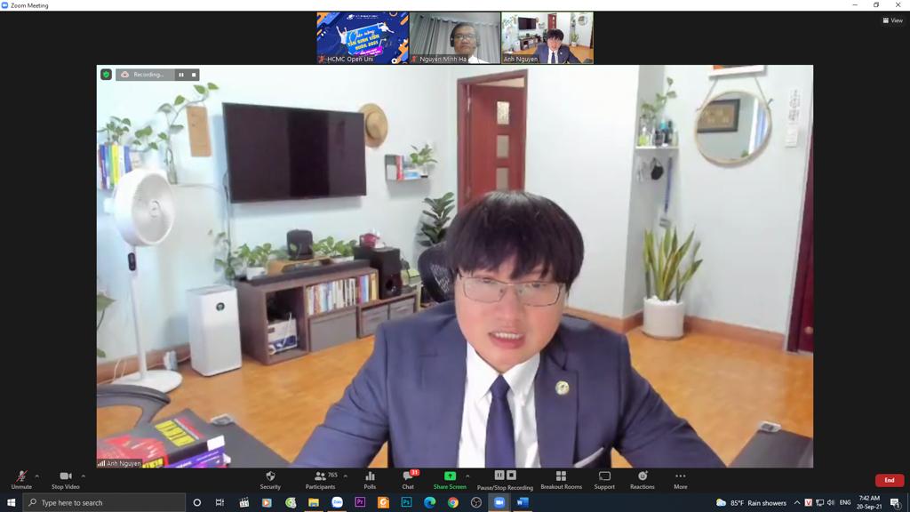Thầy Nguyễn Ngọc Anh, Trưởng phòng CTSV