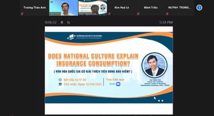 Seminar: Does national culture explain insurance consumption?