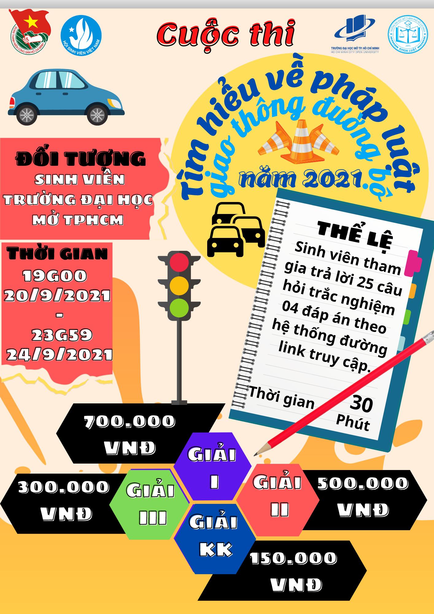 Chuỗi hoạt động tháng an toàn giao thông năm 2021